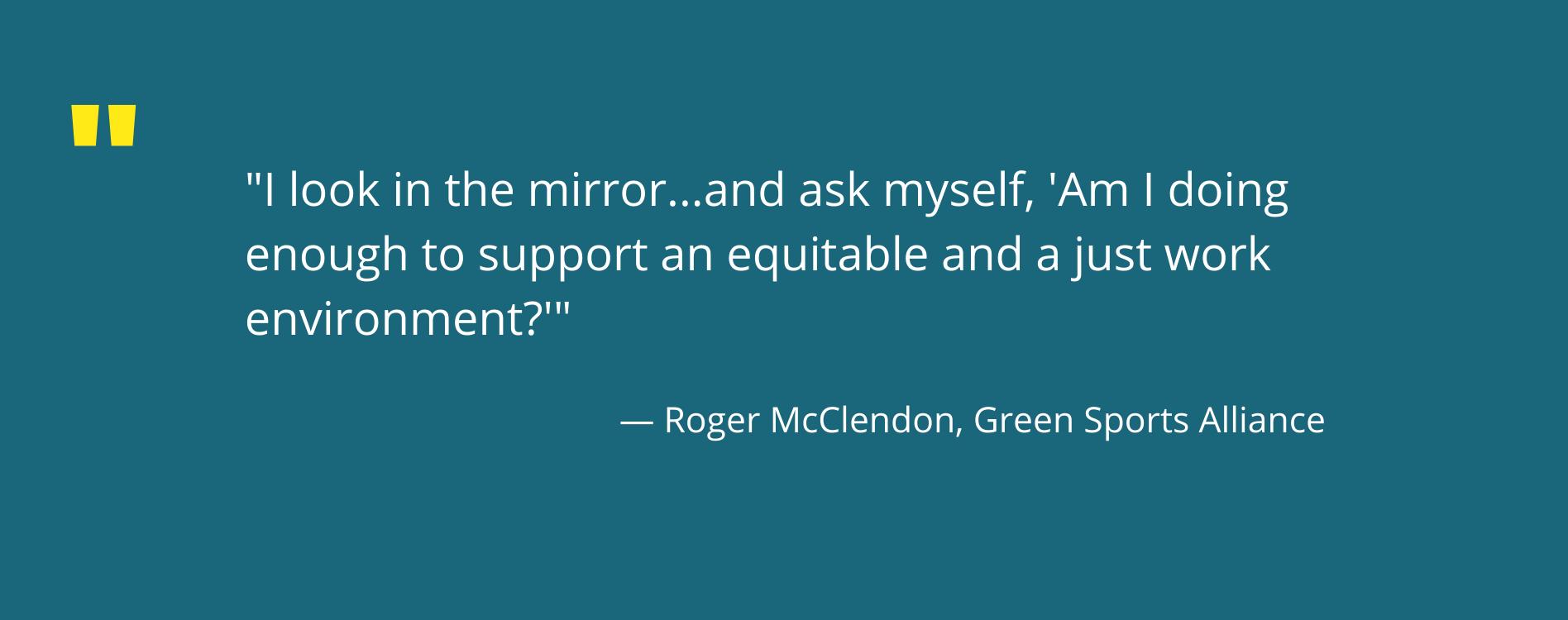 Roger McClendon quote