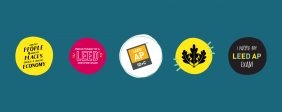 Celebrate LEED with stickers on Giphy
