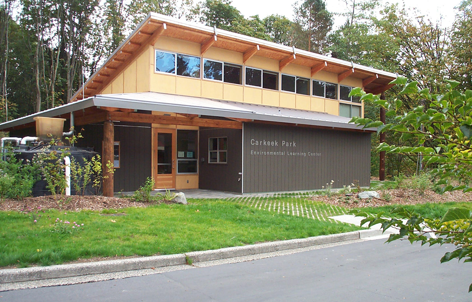The Carkeek Park Environmental Learning Center is LEED-certified
